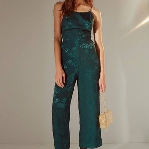 Urban Outfitters Lily Jacquard Jumpsuit